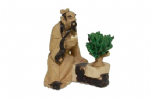 Figurine, Sitting Man with Bonsai